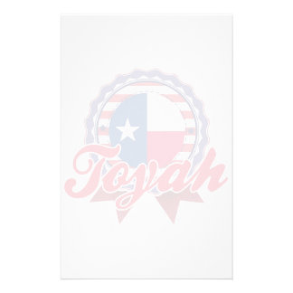 Toyah, TX Personalized Stationery