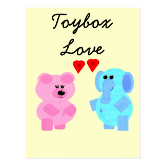 toybox love post cards
