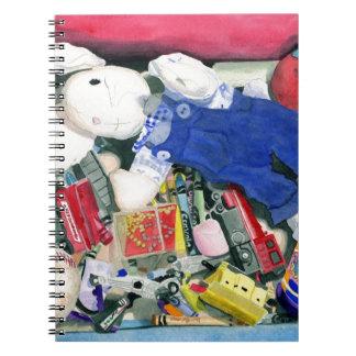 Toybox Spiral Notebook