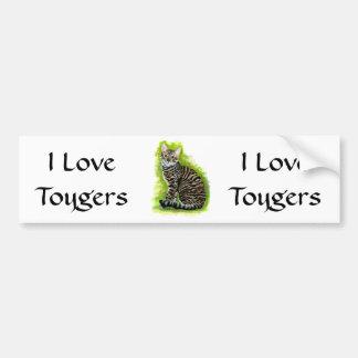 Toyger Bumper Sticker