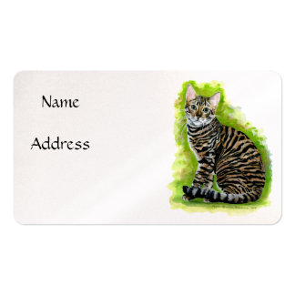 Toyger Double-Sided Standard Business Cards (Pack Of 100)