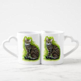 Toyger Couples' Coffee Mug Set