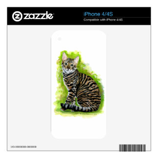 Toyger Decals For iPhone 4S