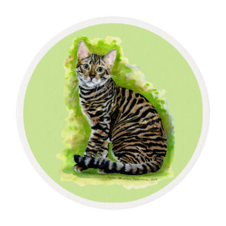 Toyger Edible Frosting Rounds