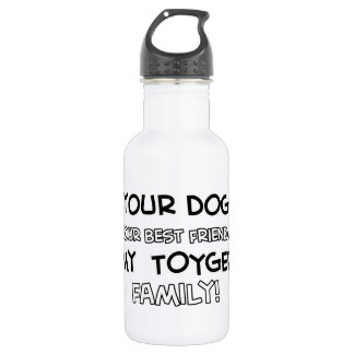 Toyger is family designs 18oz water bottle