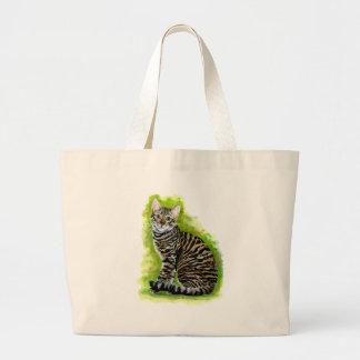 Toyger Jumbo Tote Bag