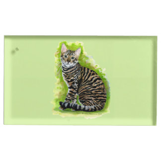 Toyger Table Card Holders