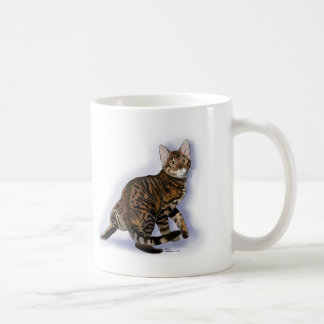 Toyger Turning Coffee Mug