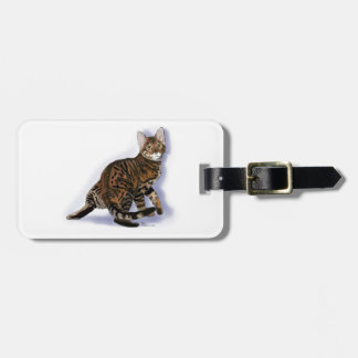 Toyger Turning Tag For Bags