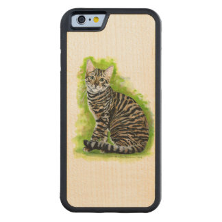Toyger Carved® Maple iPhone 6 Bumper