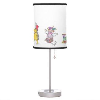 Toyland Christmas Parade Desk Lamps