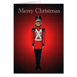 Toyland Nutcracker Christmas Greeting Card
