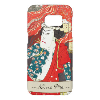 Toyohara Kunichika: Kabuki - Tattooed Firefighter Samsung Galaxy S7 Case