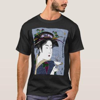 toyokuni's cappuccino (black) T-Shirt