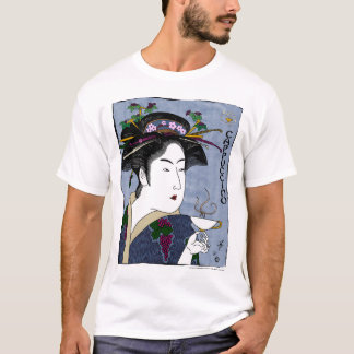 toyokuni's cappuccino (white) T-Shirt