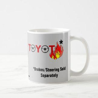Toyota: Brakes/Steering Sold Separately Classic White Coffee Mug