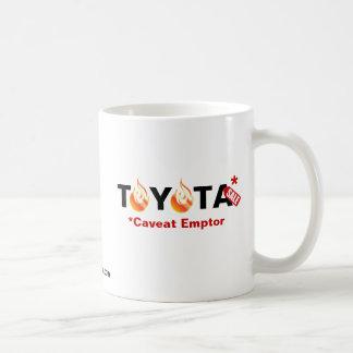 Toyota - Caveat Emptor Classic White Coffee Mug