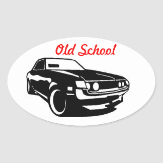 Toyota Celica Old School Oval Sticker