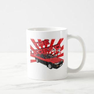 Toyota Corolla AE86 Coffee Mug
