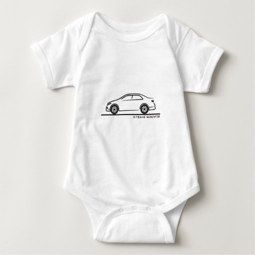 Toyota Corolla Body Para Bebé