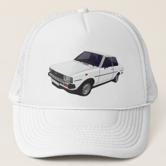 Toyota Corolla DX E70 2-door hat - cap white