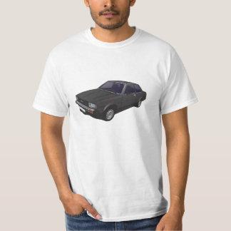 Toyota Corolla DX KE70 2-door black t-shirt