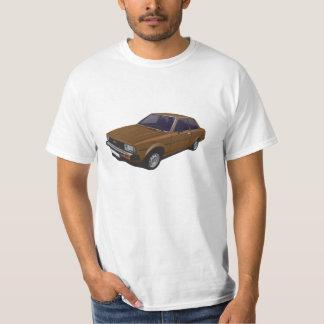 Toyota Corolla DX KE70 2-door brown t-shirt