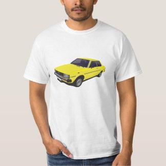 Toyota Corolla DX KE70 2-door yellow t-shirt