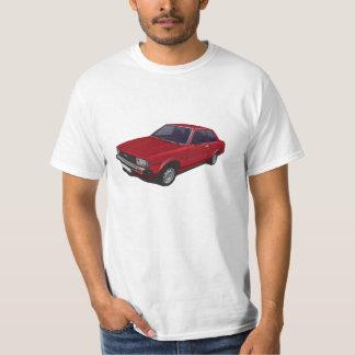 Toyota Corolla KE70 DX 2-door red t-shirt