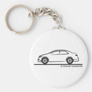 Toyota Corolla Llavero Redondo Tipo Pin