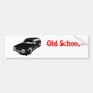 toyota corolla wagon te72 car bumper sticker