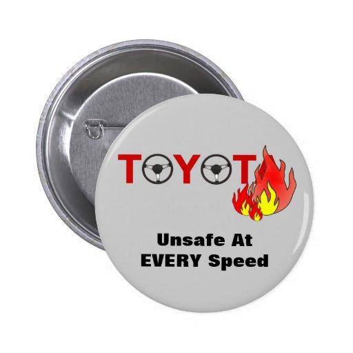 Toyota: Inseguro a CADA velocidad Pin