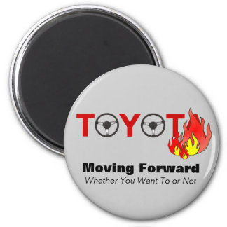 Toyota: Moving Forward 2 Inch Round Magnet