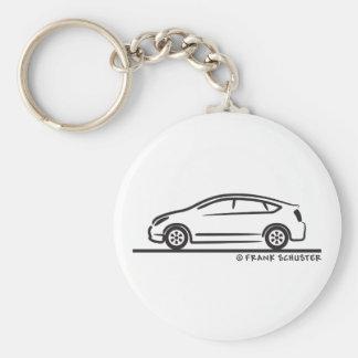 Toyota Prius Basic Round Button Keychain
