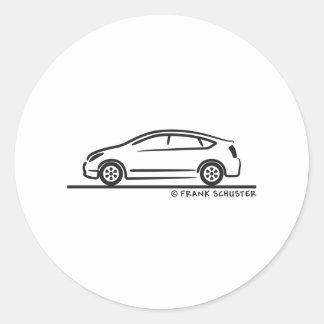 Toyota Prius Classic Round Sticker