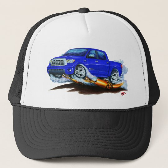 Toyota Tundra Crewmax Blue Truck Trucker Hat