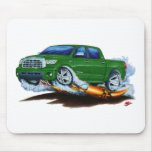 Toyota Tundra Crewmax Green Truck Mouse Pads