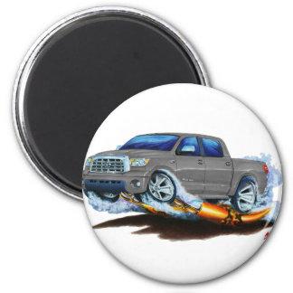 Toyota Tundra Crewmax Grey Truck 2 Inch Round Magnet