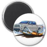 Toyota Tundra Crewmax Silver Truck Fridge Magnet