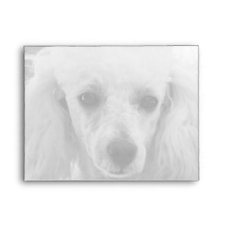 Toyr Poodle puppy notecard envelopes