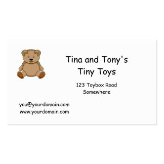 Toys Business Cards