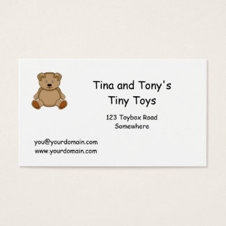 Toys Business Card
