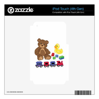 Toys Decals For iPod Touch 4G