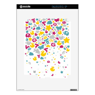 Toys Falling Like Candies by XOOXOO Skin For The iPad 2