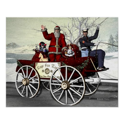 Toys For Tots Promotional Posters : Toys for tots posters zazzle