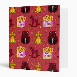 Toys – Golden Dolls & Chocolate Teddy Bears Vinyl Binder