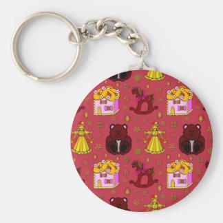 Toys – Golden Dolls & Chocolate Teddy Bears Keychain