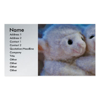 Toys - I Love Ewe Double-Sided Standard Business Cards (Pack Of 100)