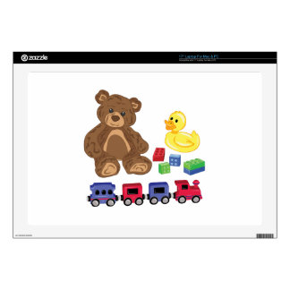 Toys Laptop Decal