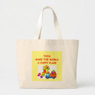 toys large tote bag